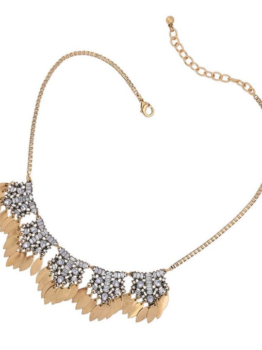 petal crystal statement necklace 4