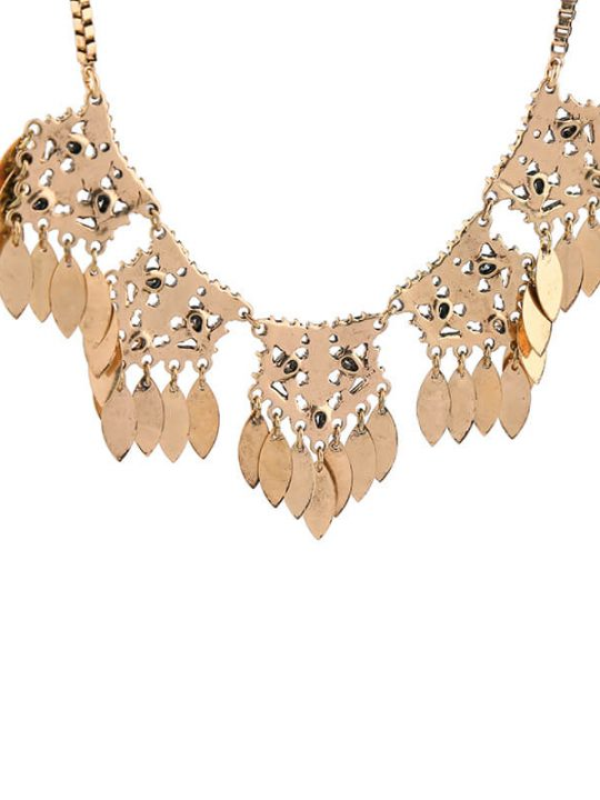 petal crystal statement necklace 5