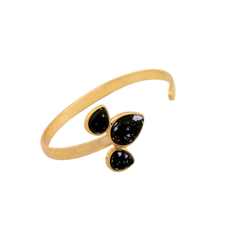 Doro Gold Irridescent Bangle Bracelet
