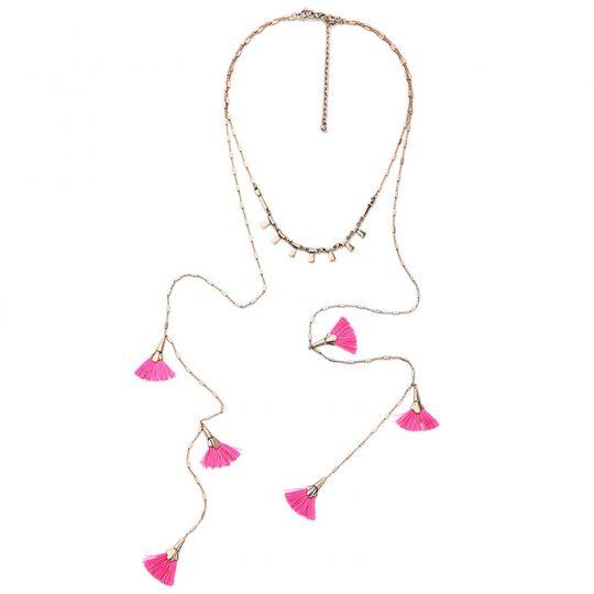 Pink-Tassel-Layer-Necklace-9