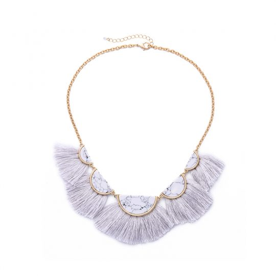 White-Marble-Tassel-Statement-Necklace-1