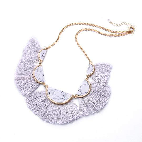 White-Marble-Tassel-Statement-Necklace-2