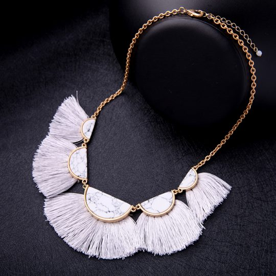 White-Marble-Tassel-Statement-Necklace-5