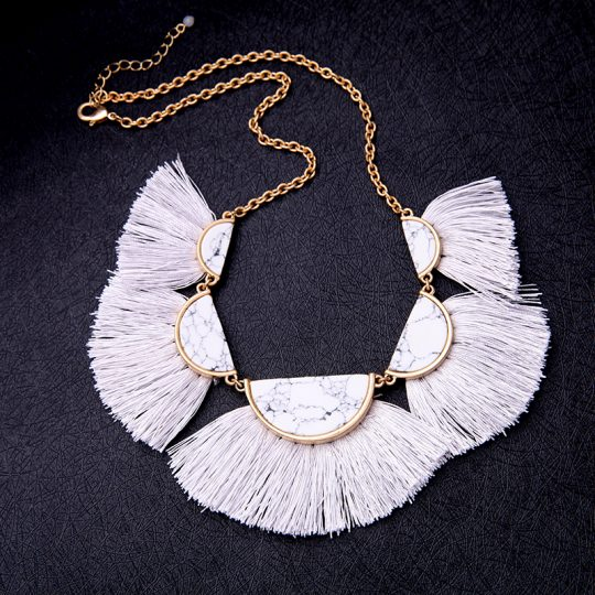 White-Marble-Tassel-Statement-Necklace-6