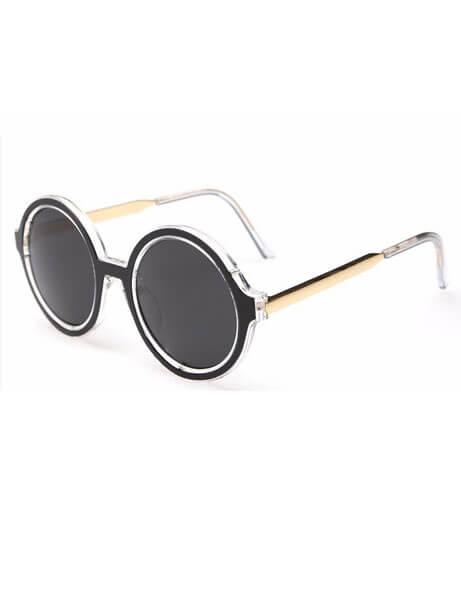 round modern sunglasses