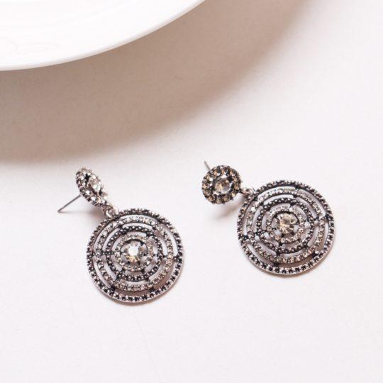 Bang-Silver-Stone-Circle-Earrings2