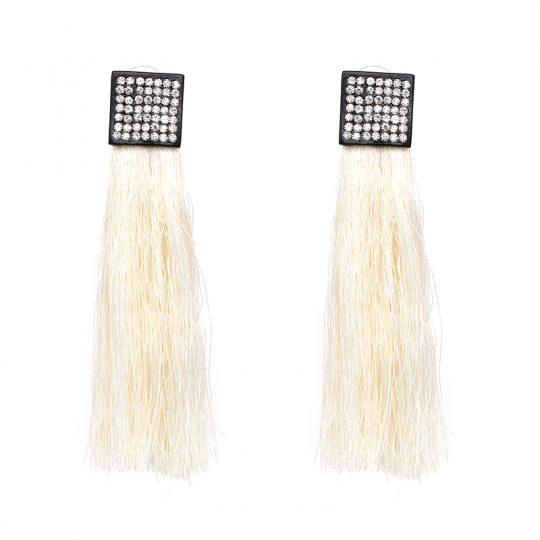 Pave-Square-Tassel-Earrings-White